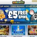PocketWin Login Page | Get £5 Free Play Bonus On Signup